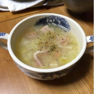 たこ焼きの余り物で絶品スープ