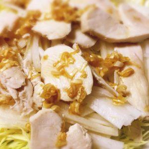 節約!コストコのストック鶏ムネ肉で簡単に柔らか蒸し鶏