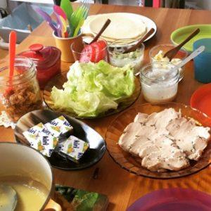 コストコのストック肉で簡単パーティーメニュー