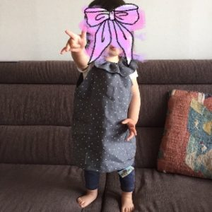 簡単な手作り子供服にトライ!