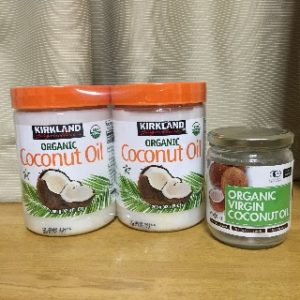 コストコのココナッツオイルで作る簡単クッキー