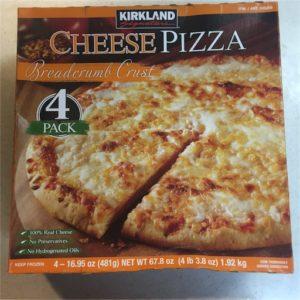 カークランド チーズピザ(冷凍)