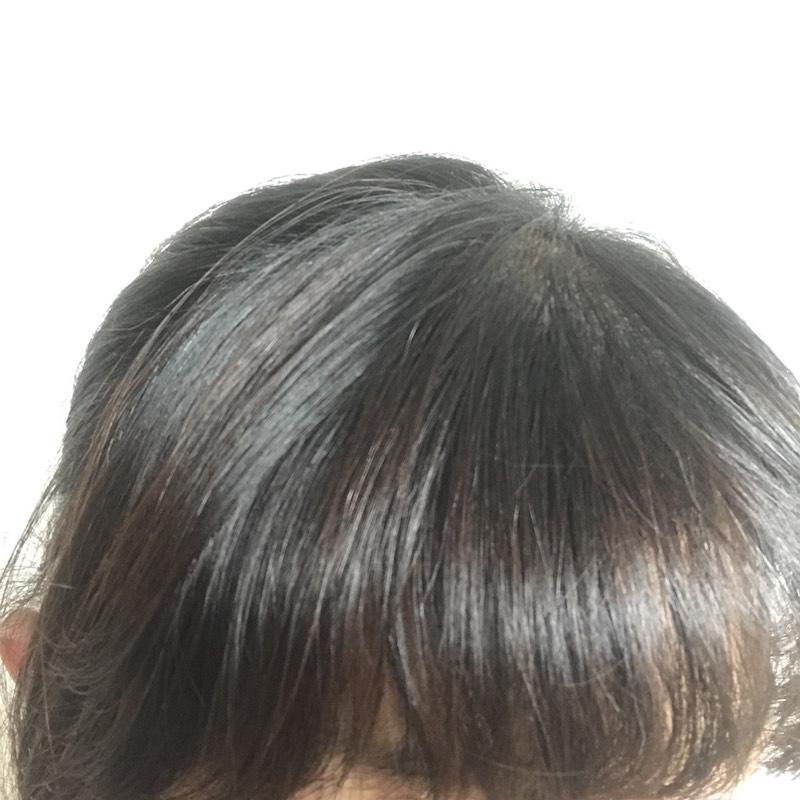髪の毛のつや
